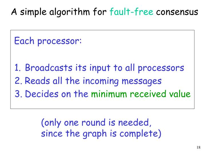 A simple algorithm for