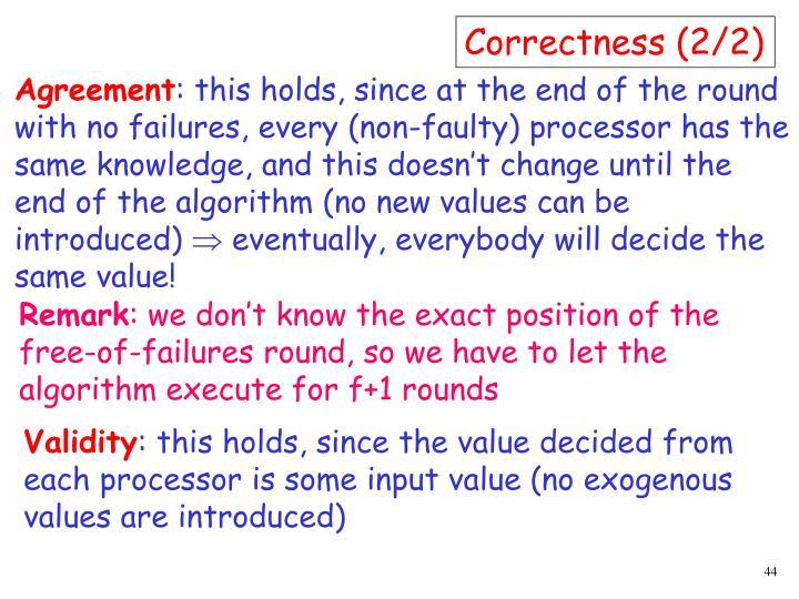 Correctness (2/2)