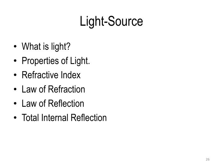 Light-Source