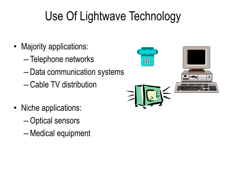 Use Of Lightwave Technology