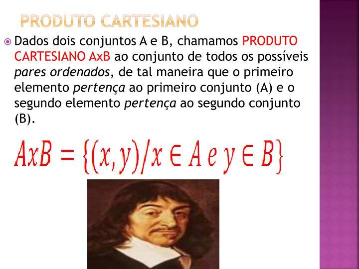 Produto Cartesiano