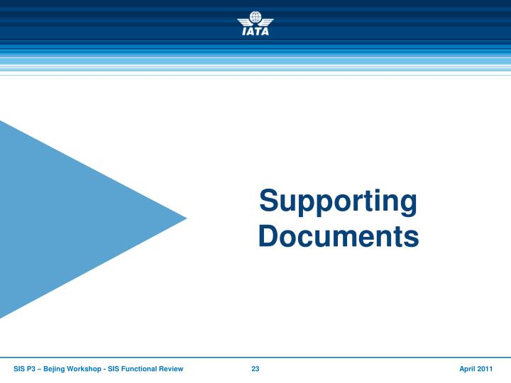 Supporting Documents