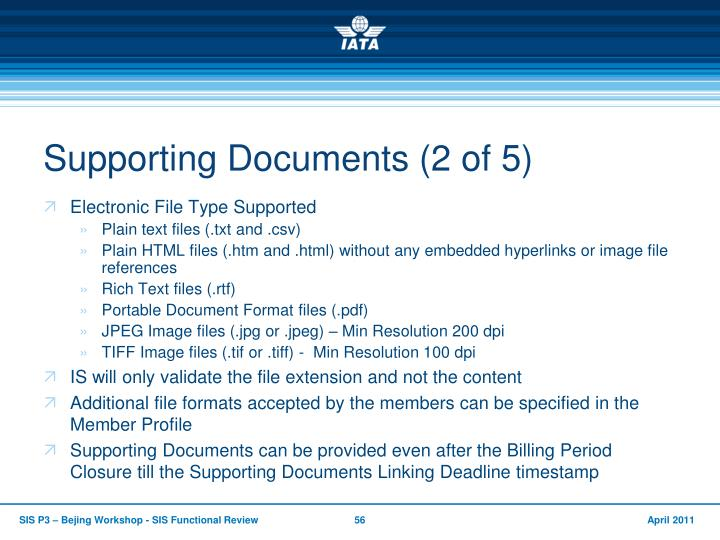 Supporting Documents (2 of 5)
