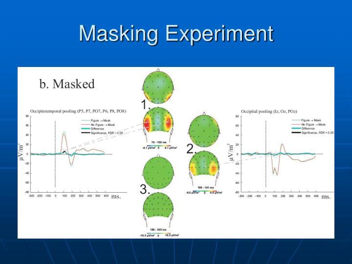 Masking Experiment
