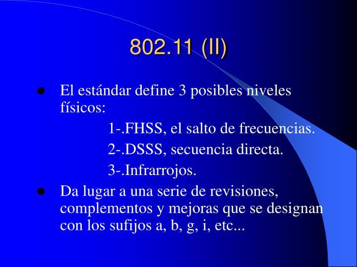 802.11 (II)