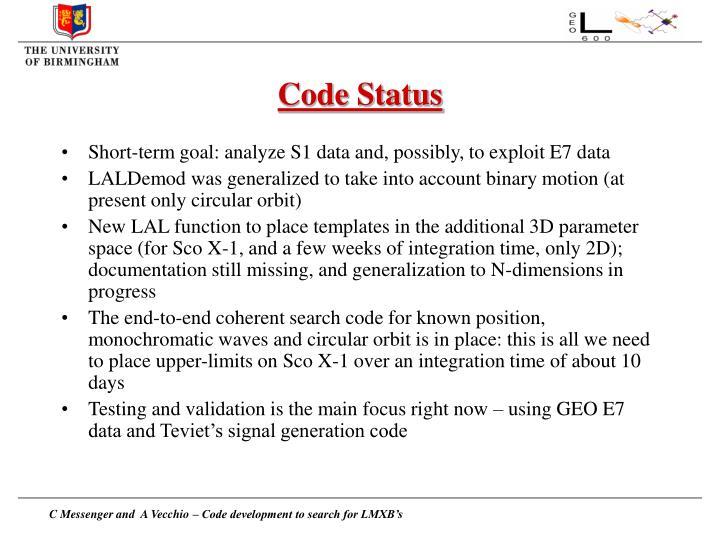 Code Status