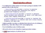 signal injection software