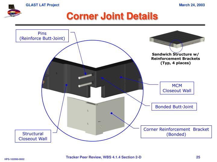 Corner Joint Details