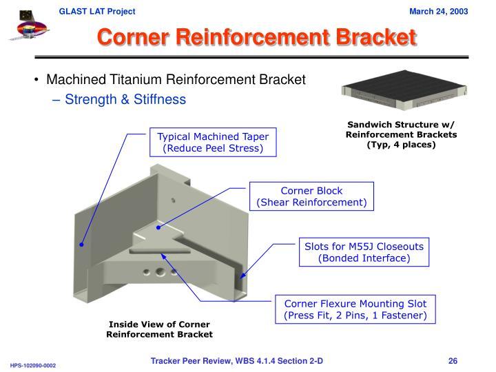 Corner Reinforcement Bracket