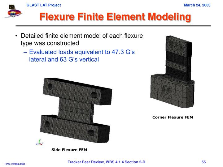 Flexure Finite Element Modeling