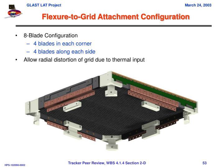 Flexure-to-Grid Attachment Configuration