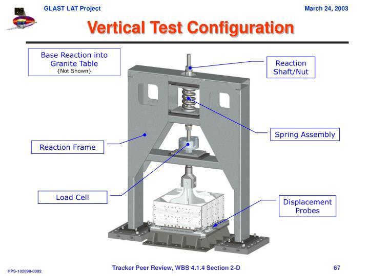 Vertical Test Configuration