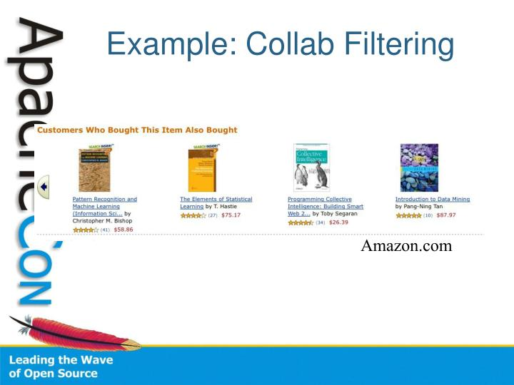 Example: Collab Filtering