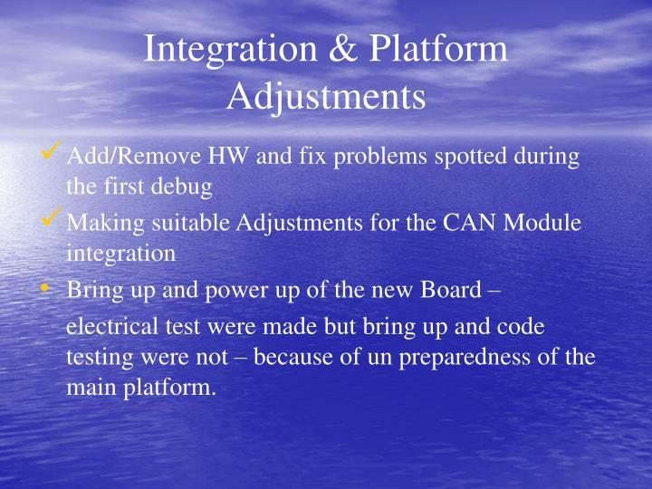 Integration & Platform