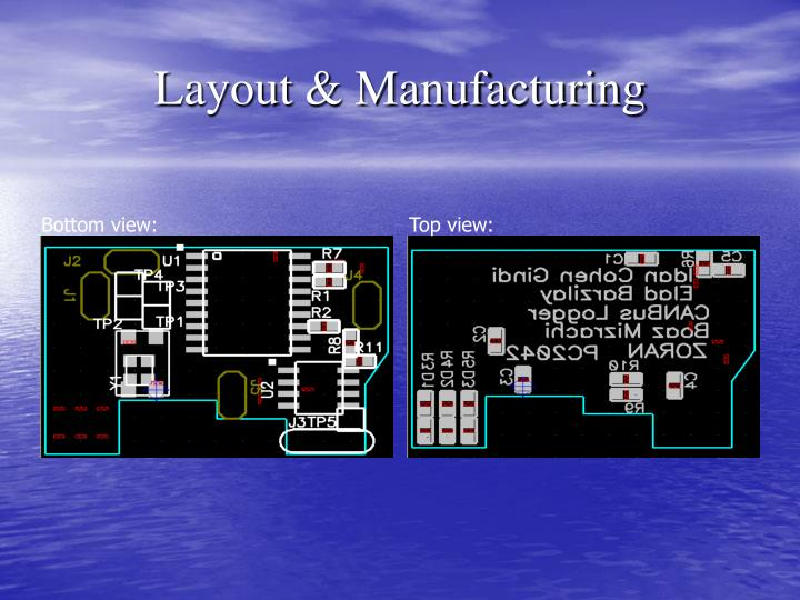 Layout & Manufacturing