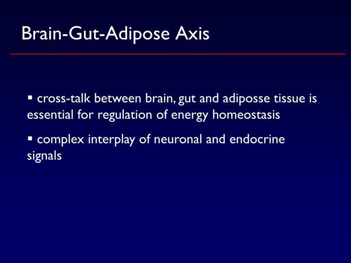 Brain-Gut-Adipose Axis