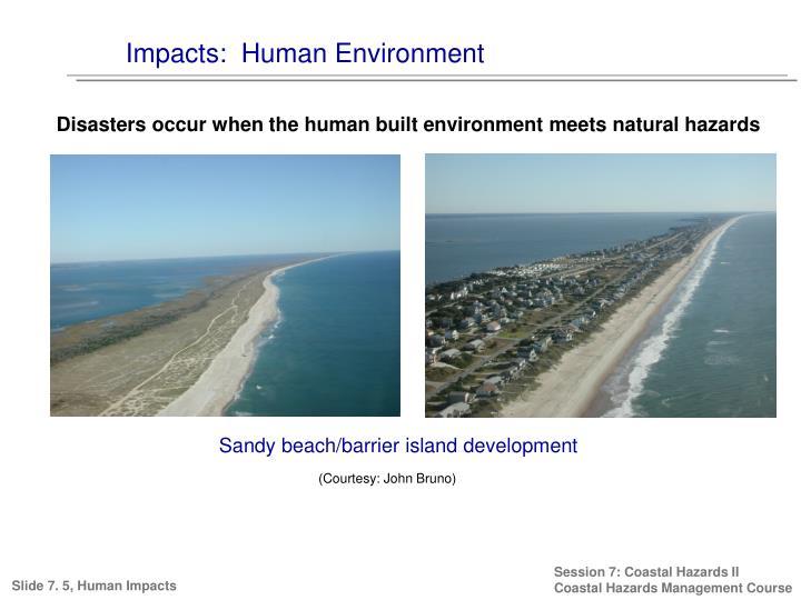 Impacts:  Human Environment