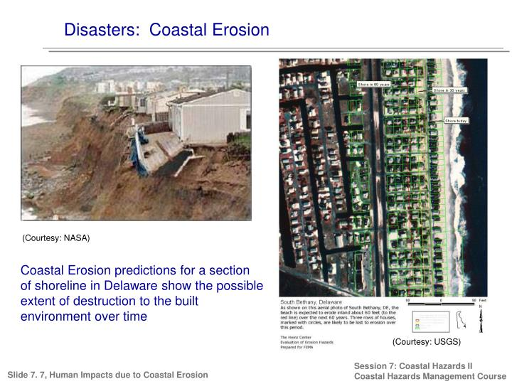 Disasters:  Coastal Erosion