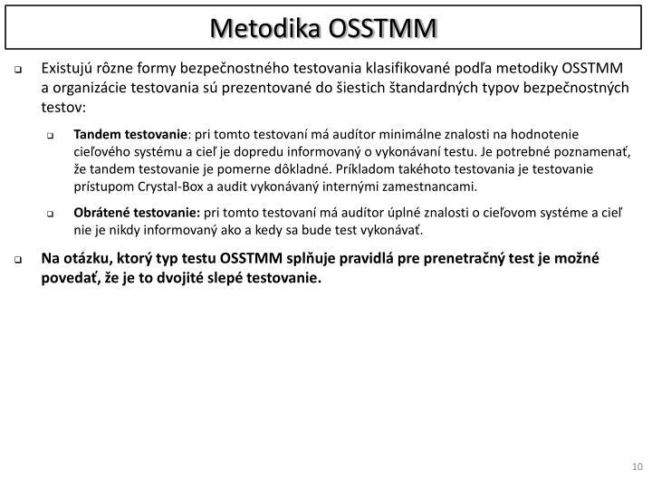 Metodika OSSTMM
