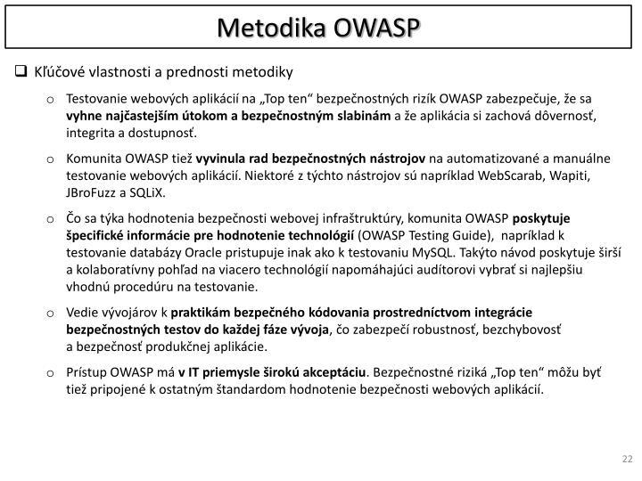 Metodika OWASP