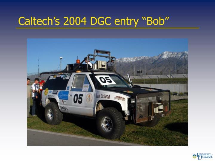"""Caltech's 2004 DGC entry """"Bob"""""""