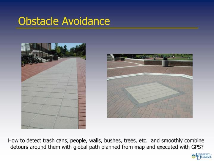 Obstacle Avoidance