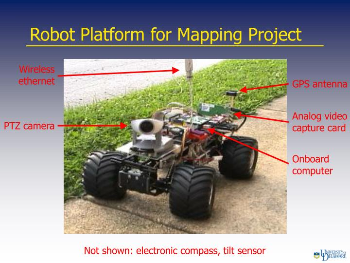 Robot Platform for Mapping Project