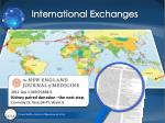 international exchanges