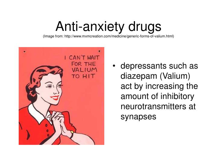 Anti-anxiety drugs