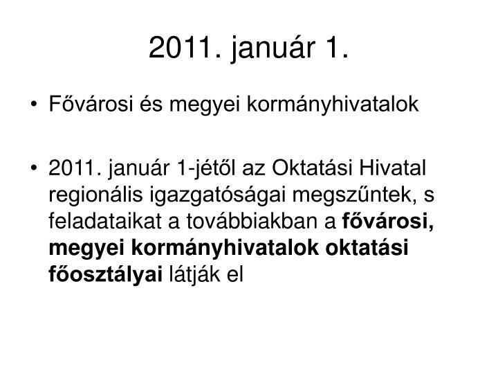 2011. január 1.