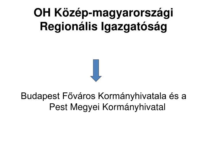 OH Közép-magyarországi Regionális Igazgatóság