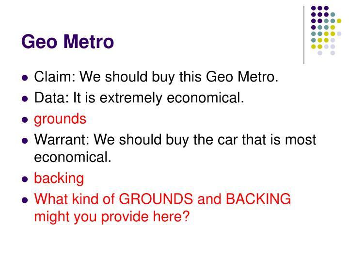 Geo Metro