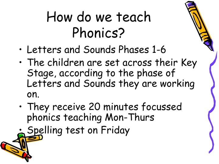 How do we teach Phonics?