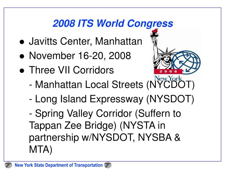 2008 ITS World Congress