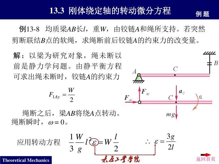 应用转动方程