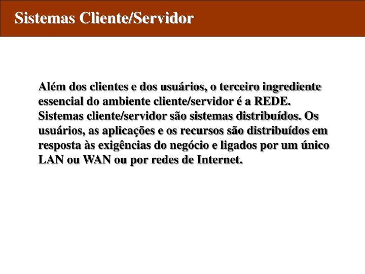 Sistemas Cliente/Servidor