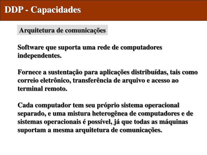 DDP - Capacidades