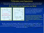 7 circuitos com capacitores