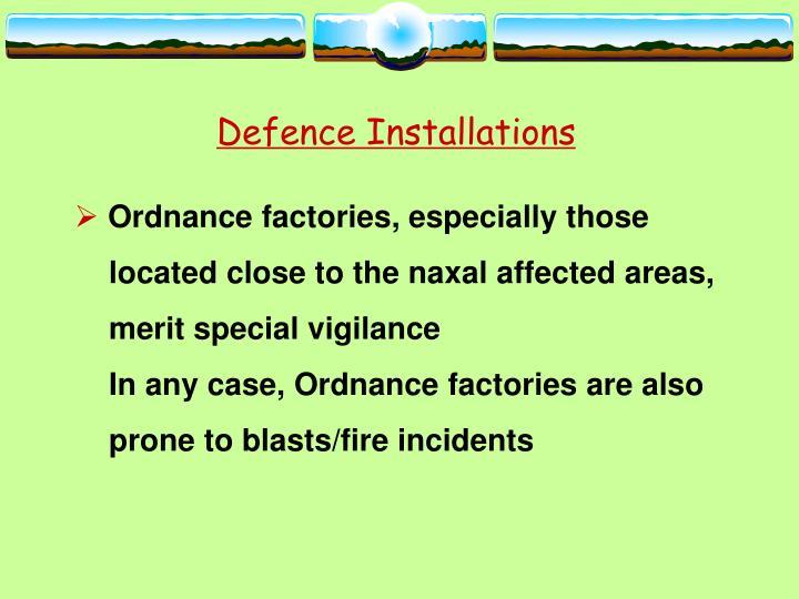 Defence Installations