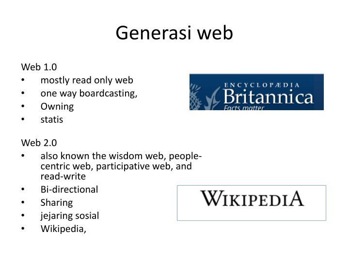 Generasi web