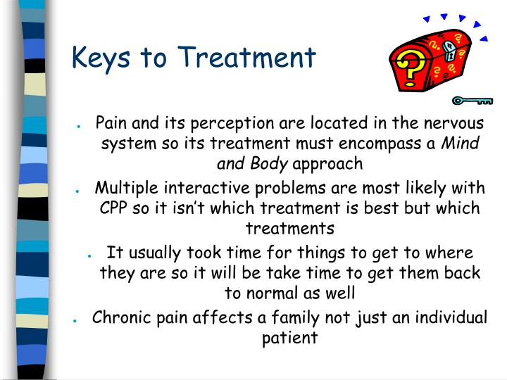 Keys to Treatment