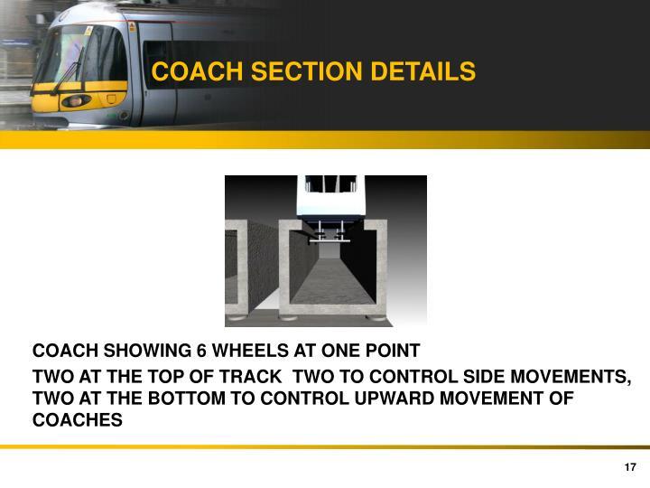 COACH SECTION DETAILS