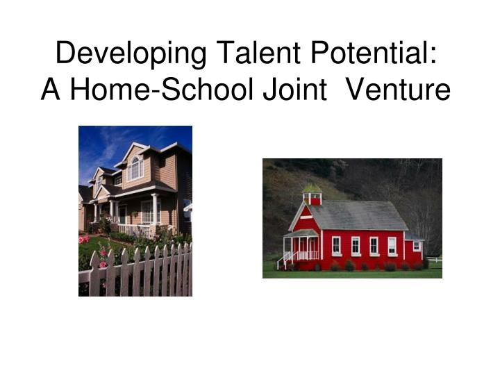 Developing Talent Potential:
