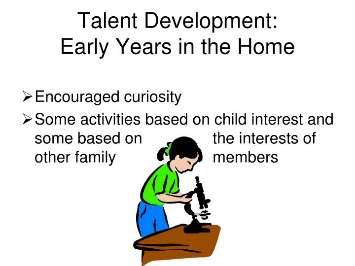 Talent Development: