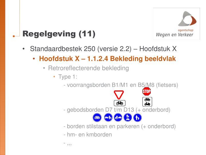 Regelgeving (11)