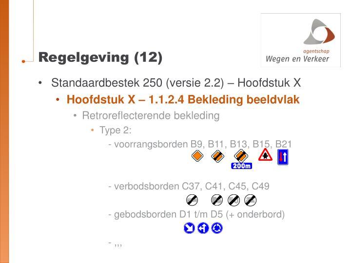 Regelgeving (12)