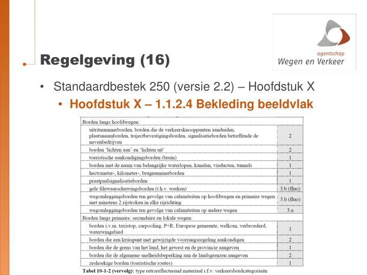 Regelgeving (16)
