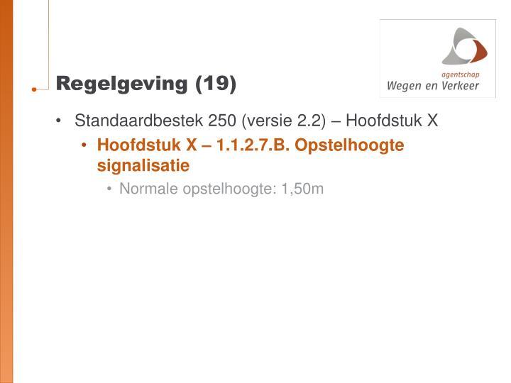 Regelgeving (19)