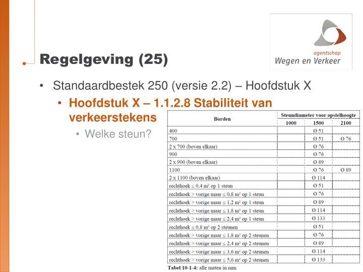 Regelgeving (25)