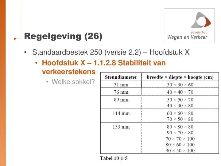 Regelgeving (26)